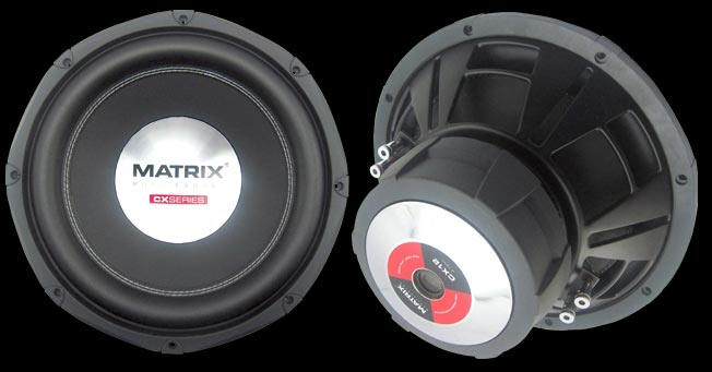Matrix Mobilesound CX12DVC Subwoofer